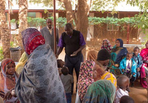 20190114-Sudán - Klinika Abu Rof - Čakáreň