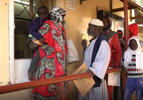 Abu Rof-Klinik Khartum SRF Schalter WEB